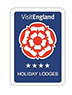 Badge of 4 Star Award for Visit England