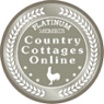 Country Cottages Online Platinum Award