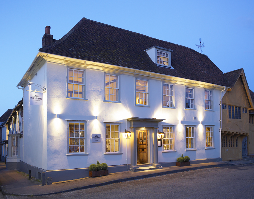 The Great House Restaurant in Lavenham