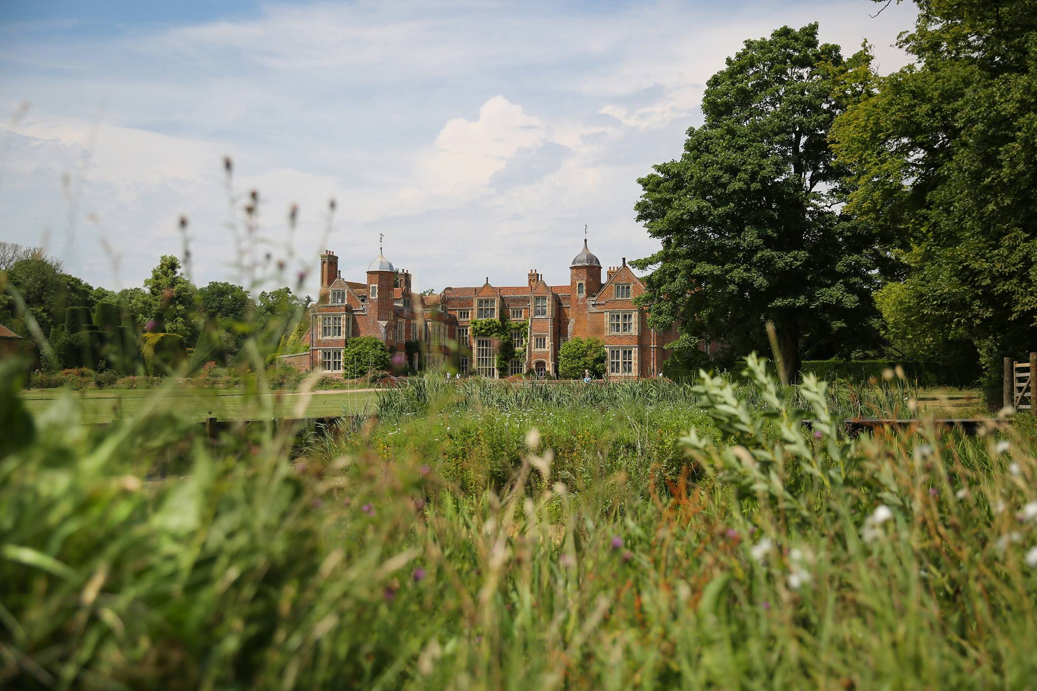 Kentwell Hall Tudor House in Suffolk