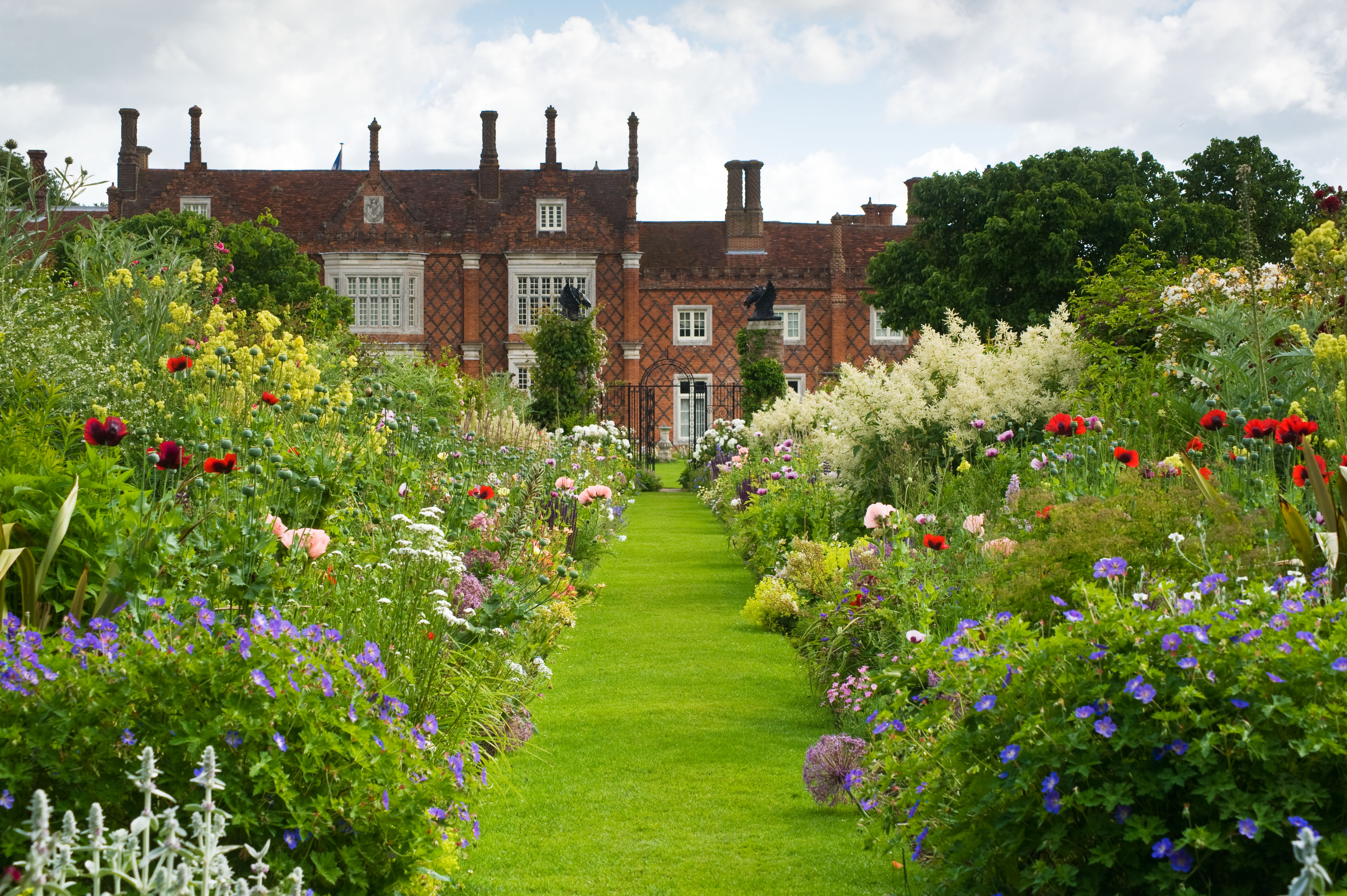 Image of Helmingham Hall and Gardens in Suffolk